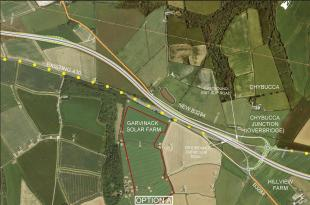 Option A | Chiverton Cross to Carland Cross